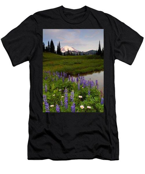 Lupine Sunrise Men's T-Shirt (Athletic Fit)