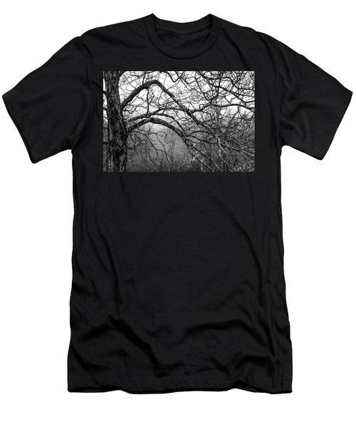 Men's T-Shirt (Slim Fit) featuring the photograph Lure Of Mystery by Karen Wiles