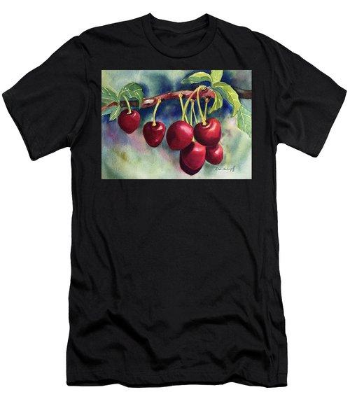 Luscious Cherries Men's T-Shirt (Athletic Fit)