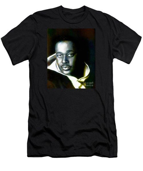 Luther Vandross - Singer  Men's T-Shirt (Athletic Fit)