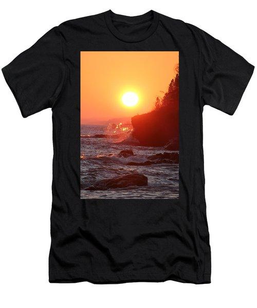 Lutsen Shore Five Men's T-Shirt (Athletic Fit)