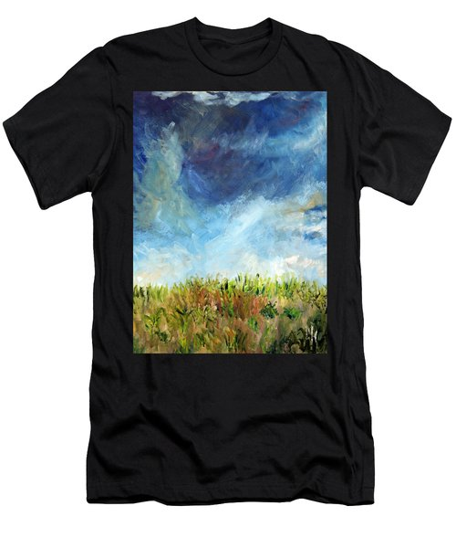 Lying In The Grass Men's T-Shirt (Athletic Fit)