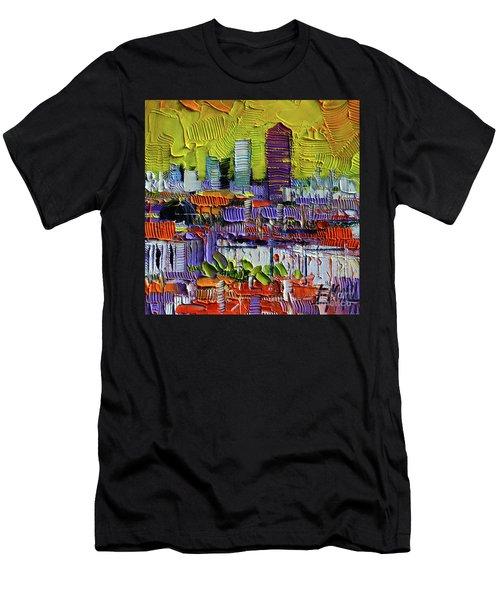 Lyon At Sunrise Men's T-Shirt (Athletic Fit)