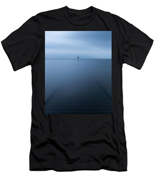 Lytham Jetty  Men's T-Shirt (Athletic Fit)