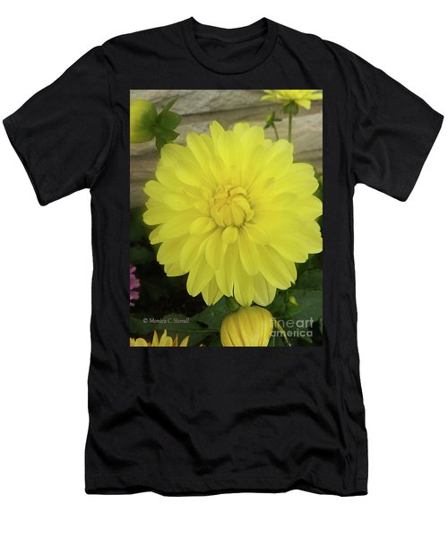 M Shades Of Yellow Flowers Collection No. Y90 Men's T-Shirt (Athletic Fit)