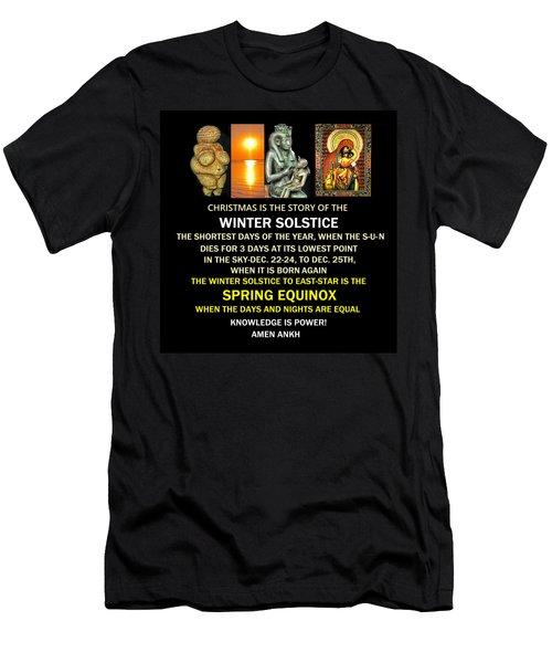 Ma Ra Solstice Men's T-Shirt (Athletic Fit)
