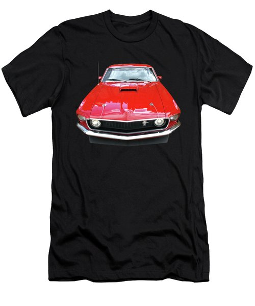 Mach1 Mustang 1969 Head On Men's T-Shirt (Athletic Fit)