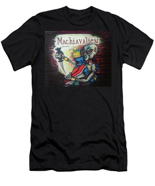 Machiavalien Men's T-Shirt (Athletic Fit)
