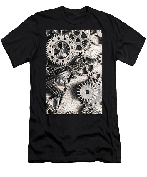 Machines Of Military Precision  Men's T-Shirt (Athletic Fit)