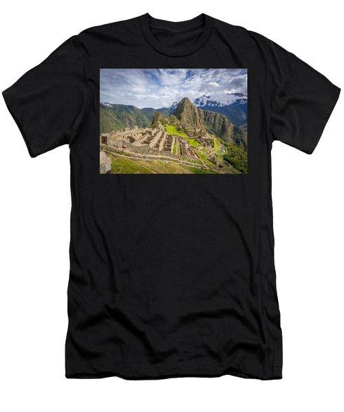 Machu Picchu Peru Men's T-Shirt (Athletic Fit)