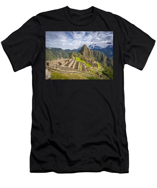 Machu Picchu Peru Men's T-Shirt (Athletic Fit)