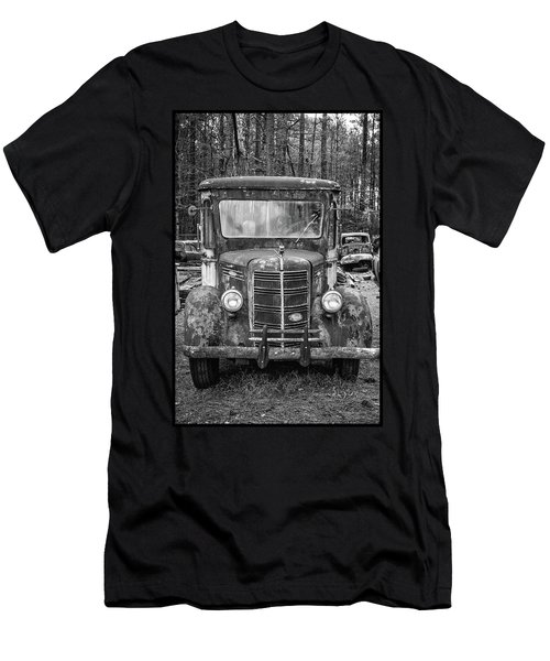 Mack Truck In A Junkyard Men's T-Shirt (Athletic Fit)