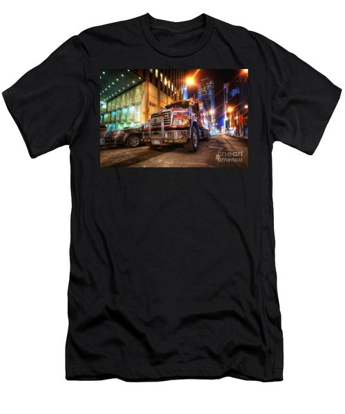 Mack Truck Nyc Men's T-Shirt (Athletic Fit)