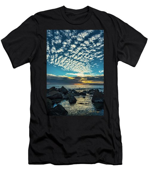 Mackerel Sky Men's T-Shirt (Athletic Fit)