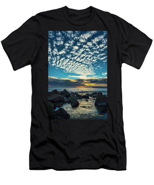 Mackerel Sky Men's T-Shirt (Athletic Fit)