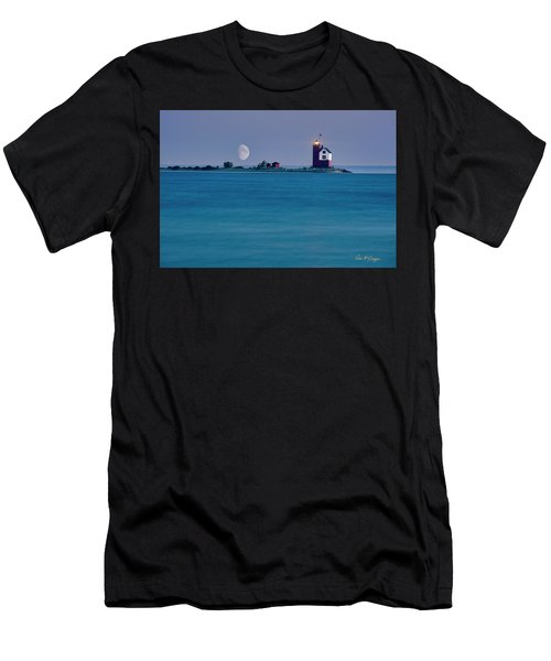 Mackinac Moon Men's T-Shirt (Athletic Fit)