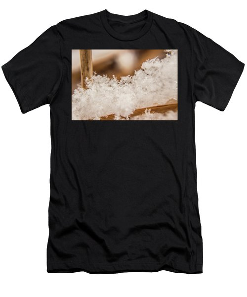Men's T-Shirt (Athletic Fit) featuring the photograph Macro Crystal by Tyson Kinnison