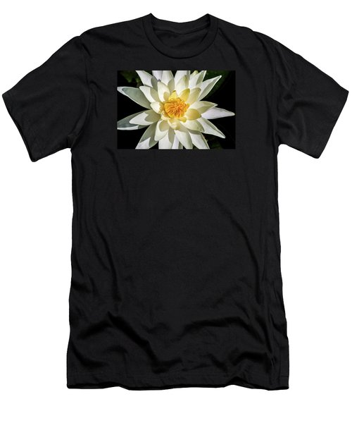 Macro Water Lily Men's T-Shirt (Athletic Fit)