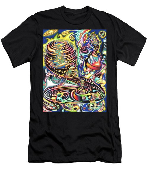 Macrocosmic Creation Of A Splendid Puzzle Men's T-Shirt (Athletic Fit)