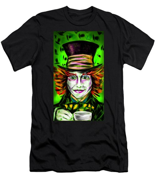 Mad Hatter Men's T-Shirt (Athletic Fit)