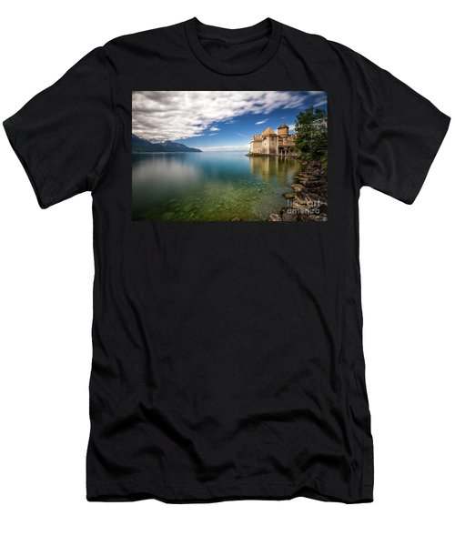 Made In Switzerland Men's T-Shirt (Slim Fit) by Giuseppe Torre