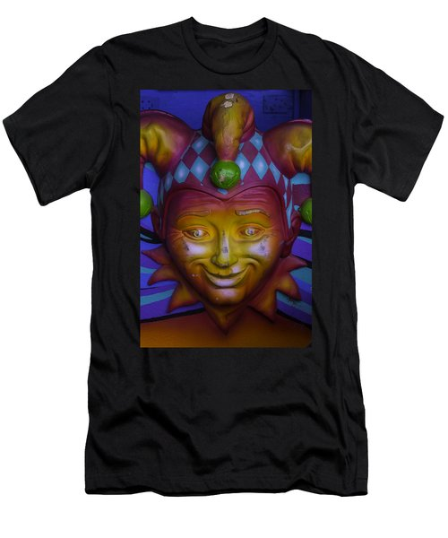 Madi Gras Jester Men's T-Shirt (Athletic Fit)