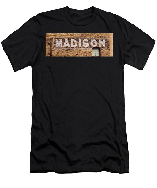 Madison Sign- Madison, Wi Men's T-Shirt (Athletic Fit)