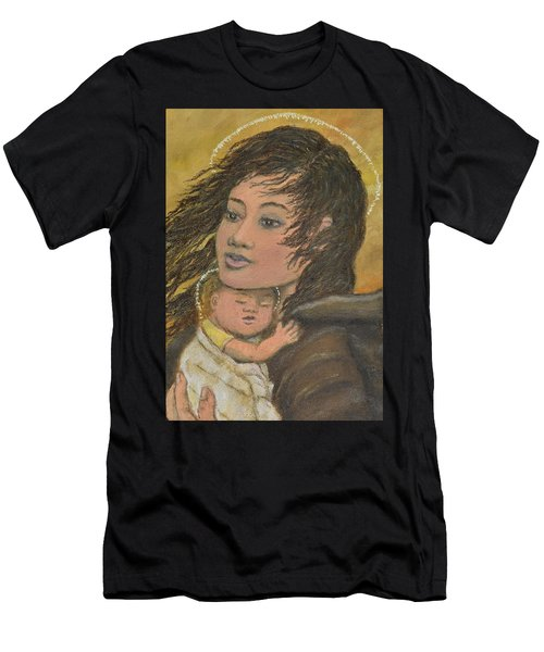 Madonna Of The Prairie Wind Men's T-Shirt (Athletic Fit)