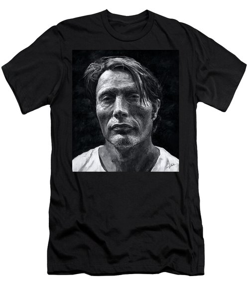 Mads Mikkelsen Men's T-Shirt (Athletic Fit)