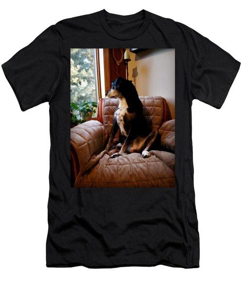 Maggie's Spot Men's T-Shirt (Athletic Fit)