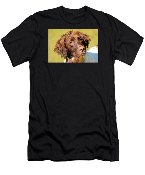 Maggie Head Photo Art Men's T-Shirt (Athletic Fit)