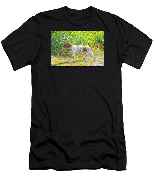 Maggie Stride Photo Art Men's T-Shirt (Athletic Fit)
