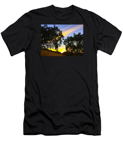 Magic Hour Sunset Men's T-Shirt (Athletic Fit)