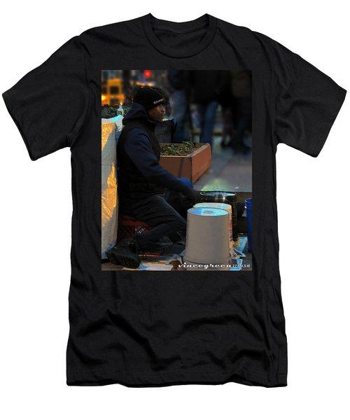 Magic In Love Park Men's T-Shirt (Athletic Fit)