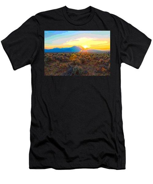 Magic Over Taos Men's T-Shirt (Athletic Fit)