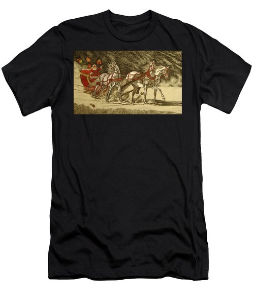 Magical Christmas Men's T-Shirt (Athletic Fit)