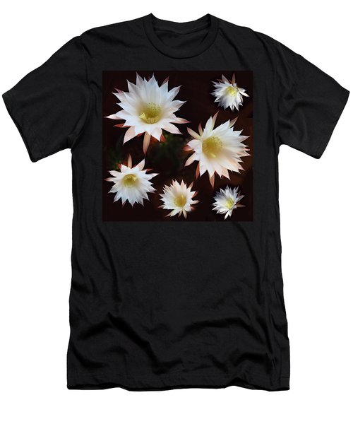 Men's T-Shirt (Slim Fit) featuring the photograph Magical Flower by Gina Dsgn