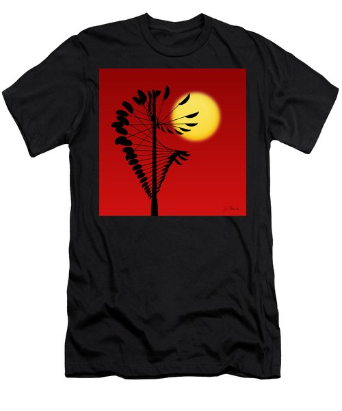 Magical Mobile And Sun Men's T-Shirt (Athletic Fit)