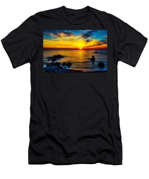 Magical Pacific Sunset Men's T-Shirt (Athletic Fit)