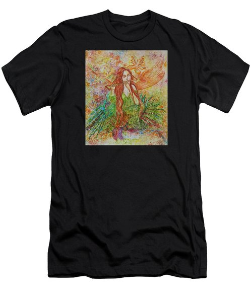 Magical Song Of Autumn Men's T-Shirt (Athletic Fit)