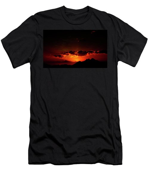 Magical Sunset In Africa 2 Men's T-Shirt (Athletic Fit)