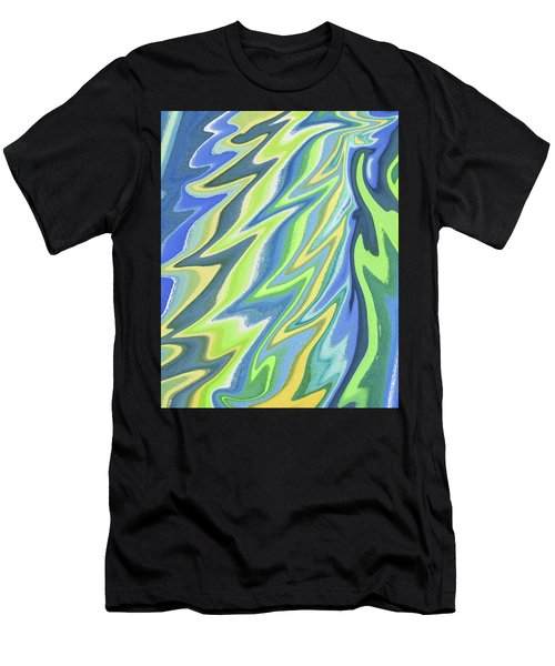 Magical Wing Abstract Art Men's T-Shirt (Athletic Fit)