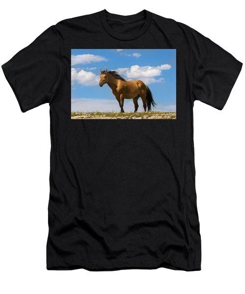 Magnificent Wild Horse Men's T-Shirt (Athletic Fit)