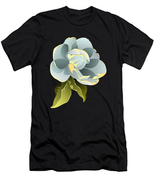 Magnolia Blossom Graphic Men's T-Shirt (Athletic Fit)