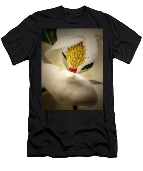 Magnolia Flower Men's T-Shirt (Athletic Fit)