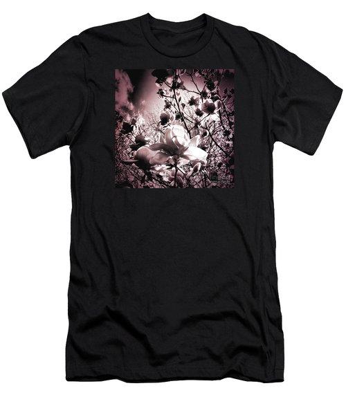 Magnolia Pink Men's T-Shirt (Athletic Fit)