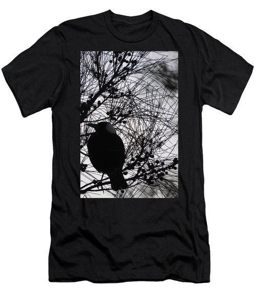 Magpie In A Sheoak Men's T-Shirt (Athletic Fit)