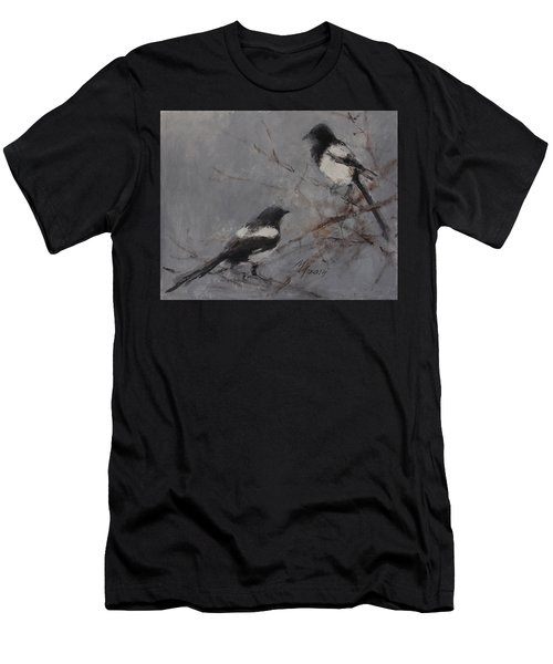 Magpies Men's T-Shirt (Athletic Fit)