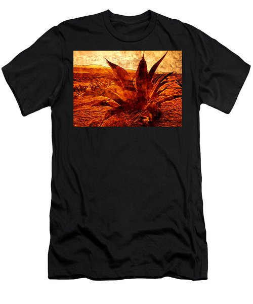 G O L D E N   .  A G A V E Men's T-Shirt (Athletic Fit)