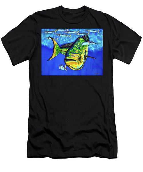 Mahi Mahi And Ballyhoo Men's T-Shirt (Athletic Fit)